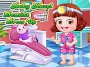 Viste a bebé Hazel con ropa y accesorios de dentista, elige faldas, tops, abrigos y accesorios para un cambio de imagen de dentista perfecto y con estilo de Hazel. Hazel quiere jugar a los dentistas y para que el juego sea perfecto debe lucir como un verdadero dentista.