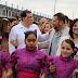 Estrechan lazos de hermandad. Tradicional Abrazo & Square Dace In Reynosa