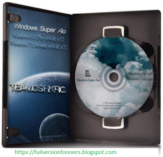 Windows Super All in One AIO 2015 with latest update