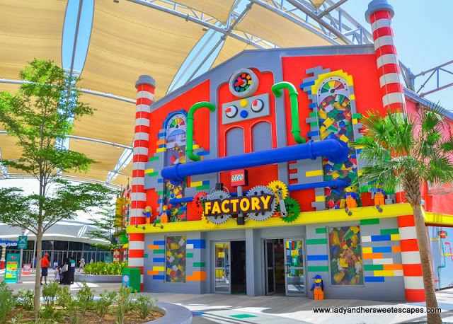 Lego Factory at Legoland Dubai