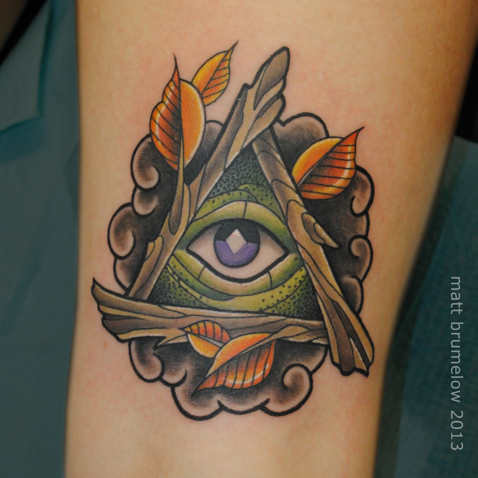 All Seeing Eye Tattoo: Art And Ink: PORTFOLIO