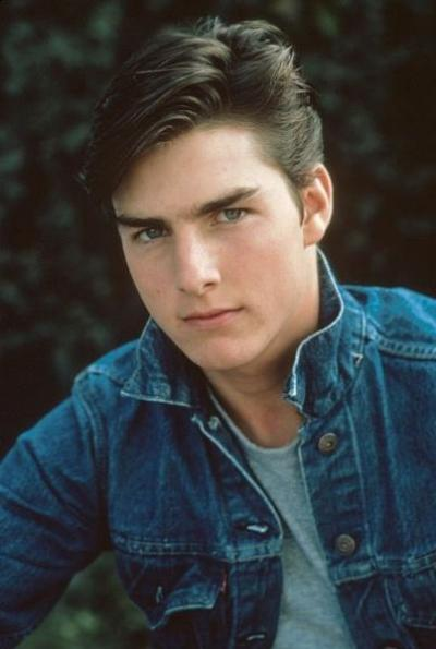 European Asian Hairstyle Short Hair Styles Young Tom Cruise