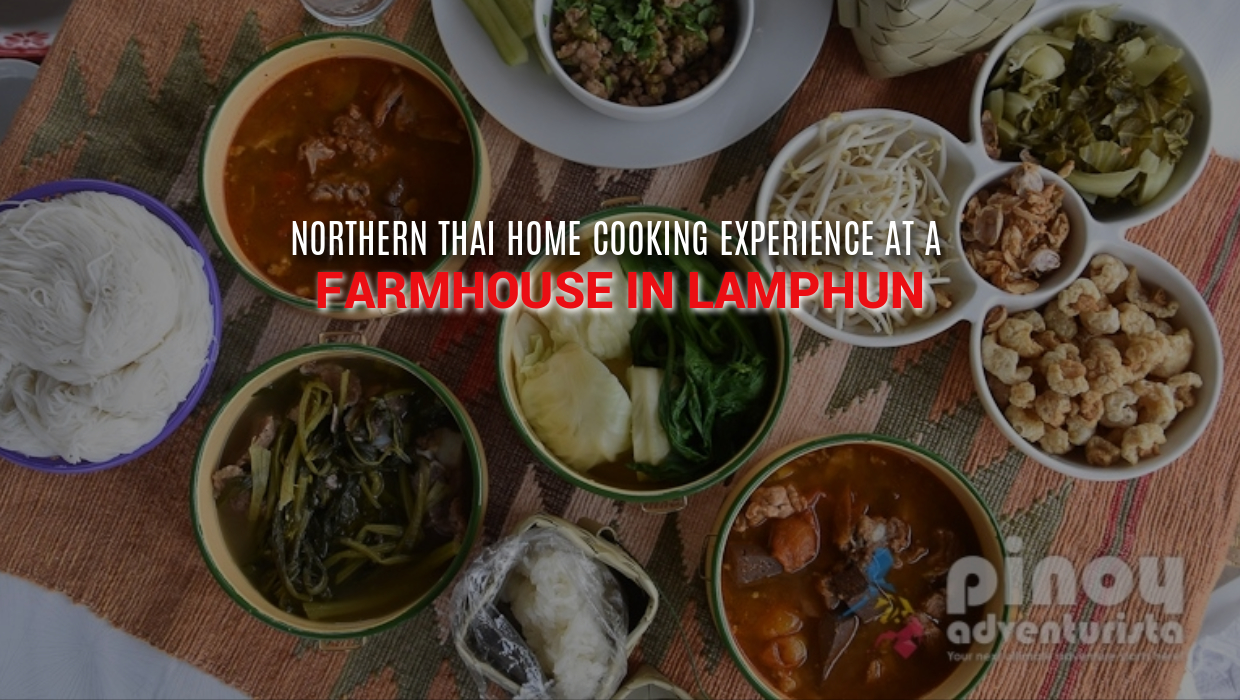 LAMPHUN, THAILAND: Sightseeing and Northern Thai Home-Cooking