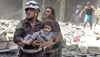 Wallahu Musta'an, Penduduk Sipil Tak Bersalah jadi Target Serangan Pemerintah Syiah Suriah