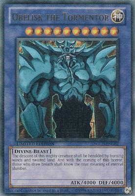 Obelisk adalah kartu dewa milik Kaiba