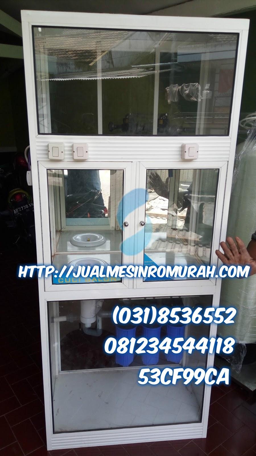 Depo Air Minum Isi Ulang Mesin Reverse Osmosis Tissue Galon Depot Mini Rp 7000000