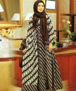 17 Model Desain Blazer Batik Terbaru Lengan Panjang Dan Tanpa Lengan
