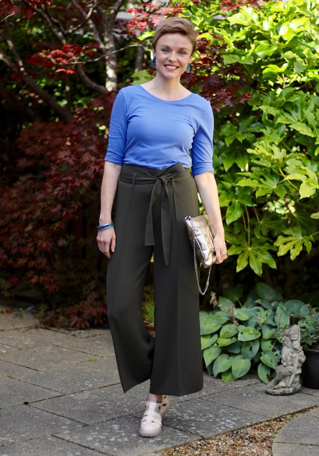 Khaki Culottes | Late Summer Outfit | Fake Fabulous