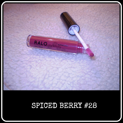 Spiced Berry lipgloss