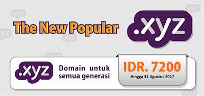 Promo Domain .Xyz Murah Cuma 7 Ribuan di Qwords