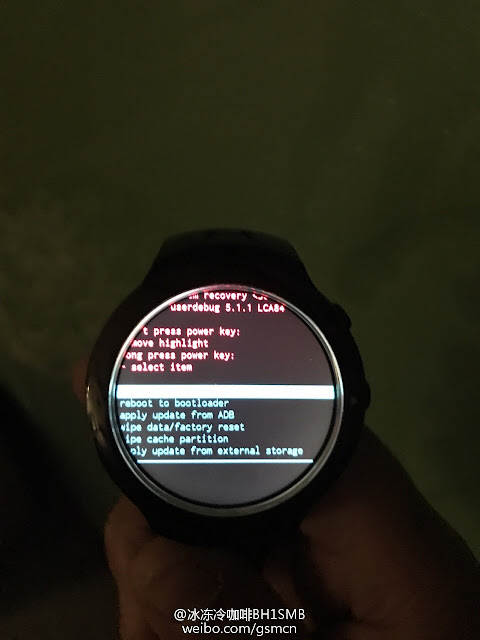 HTC's First Android Wear-powered Smartwatch Leaked online