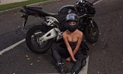 Νεκρή σε τροχαίο η 'πιο σeξι οδηγός μοτοσυκλέτας' της Ρωσίας