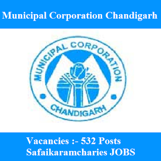 Municipal Corporation Chandigarh - MC Chandigarh, Punjab, Municipal Corporation, 10th, Safai Karamchari, freejobalert, Sarkari Naukri, Latest Jobs, mc chandigarh logo