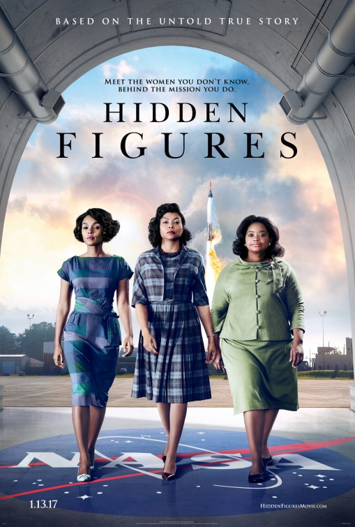 Hidden Figures movie poster
