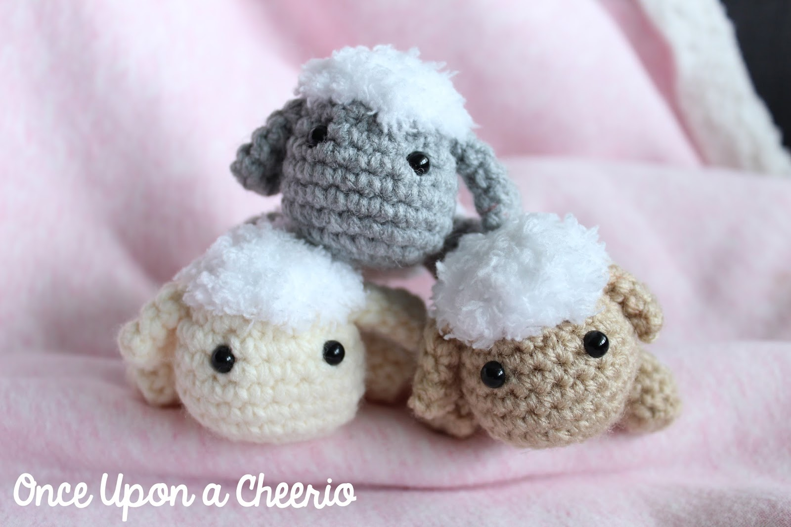 Rosemary The Lamb Crochet Pattern Once Upon A Cheerio On Go Pink Free