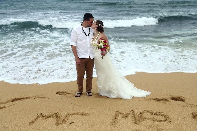 kauai destination wedding hair makeup natural beach