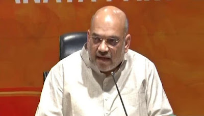 NDTV Political Editor Asked Question To Amit Shah