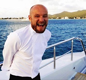 Chef Charlie Blacker of Motor Yacht Trending