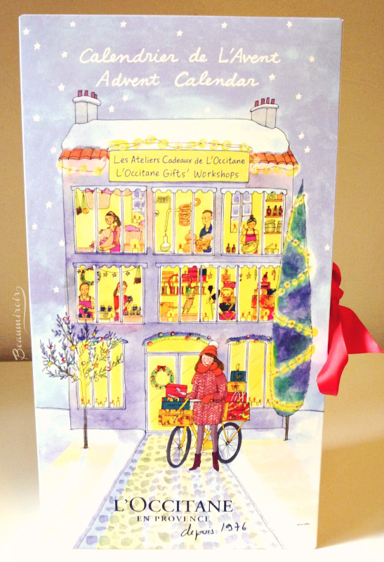 Countdown to Christmas Giveaway: L'Occitane Advent Calendar