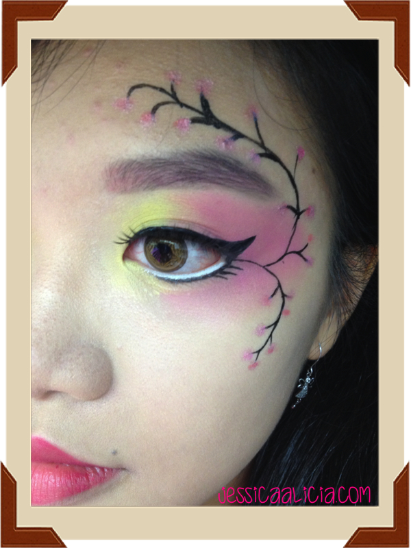 IBB Makeup Challenge Mei 2014 with Japan Softlens by Jessica Alicia