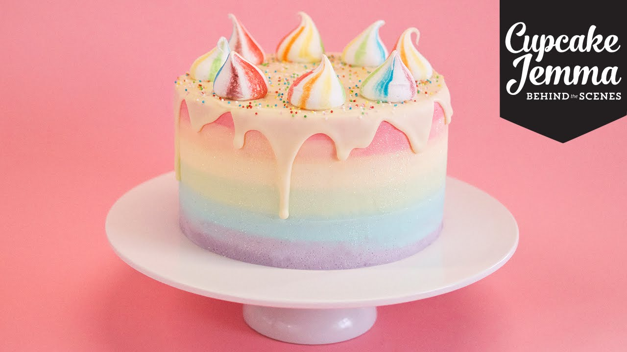 how to make the most beautiful birthday cake nerdy nummies
