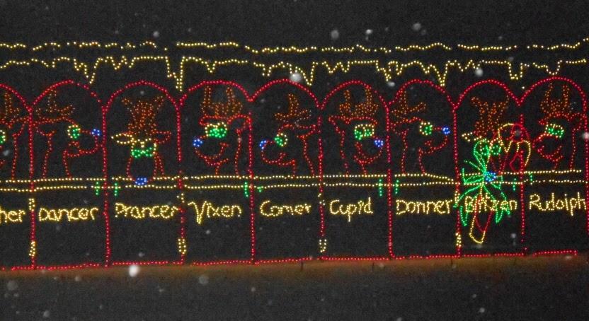 Hershey Sweet Lights in Hershey Pennsylvania