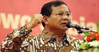 Prabowo : APBD DKI Bocor Hingga Rp.17,5 Triliun Berdasarkan Data Ahli