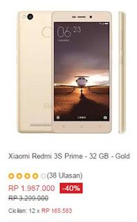 Xiaomi Redmi 3S Prime - 32GB Gold