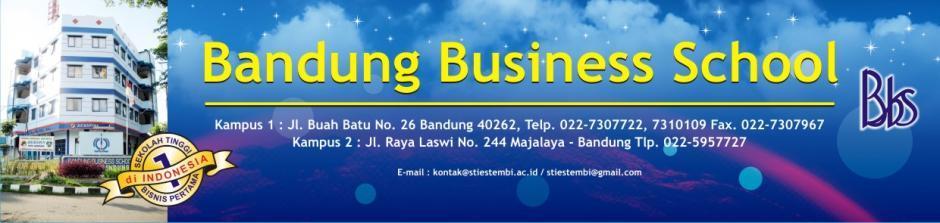 Biaya Kuliah Kelas Karyawan STEMBI Bandung Business School Tahun 2018-2019