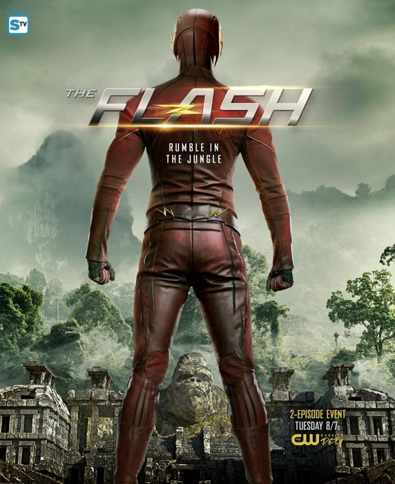 "episodio 3x13 de ""THE FLASH"" - Attack on Gorilla City"