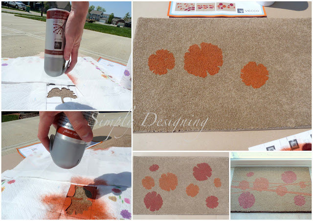 CollageA DIY Stenciled Rug and a {GIVEAWAY} 16