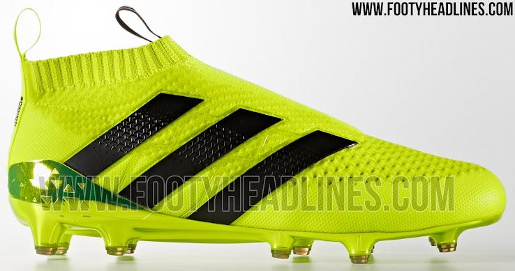 adidas ace 16 yellow