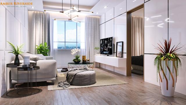 Phòng khách Amber Riverside