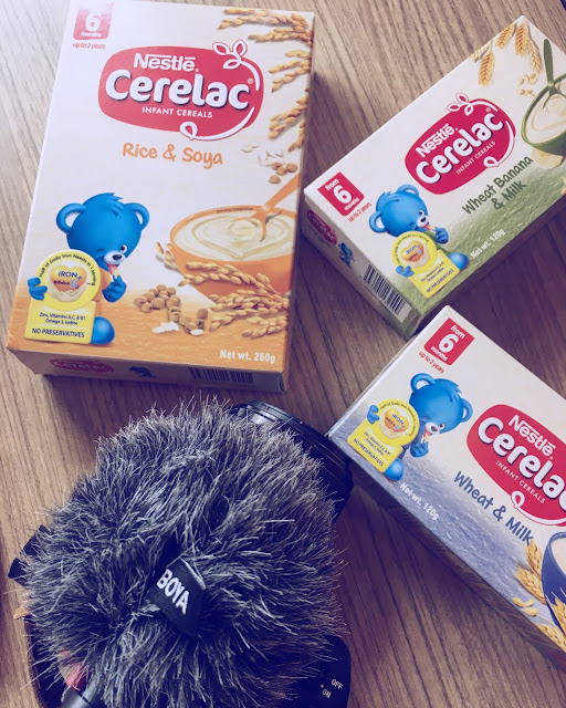 Healthy, Fun and Messy Mealtimes With Cerelac