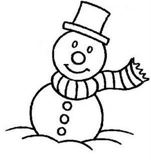 Colorindo E Desenhando Boneco De Neve Para Colorir 8