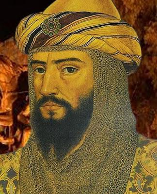 مؤسس الدولة الأيوبية صلاح الدين يوسف بن أيوب بن شاذي بن مروان (أصوله كردية)