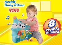 Logo Pampers ''Gioca e vinci 300 Rockit Baby Ritmo''