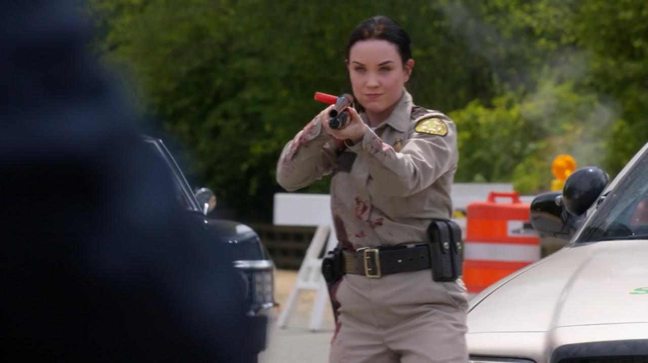 Megan rain in supernatural
