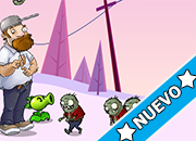 Crazy Dave and Peashooter Adventure juego