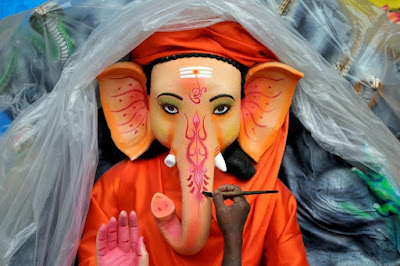 Vinayaga Chaturthi Celebrations are Going Full Swing in India