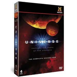 The Universe Season 4 Set of Universe DVDs