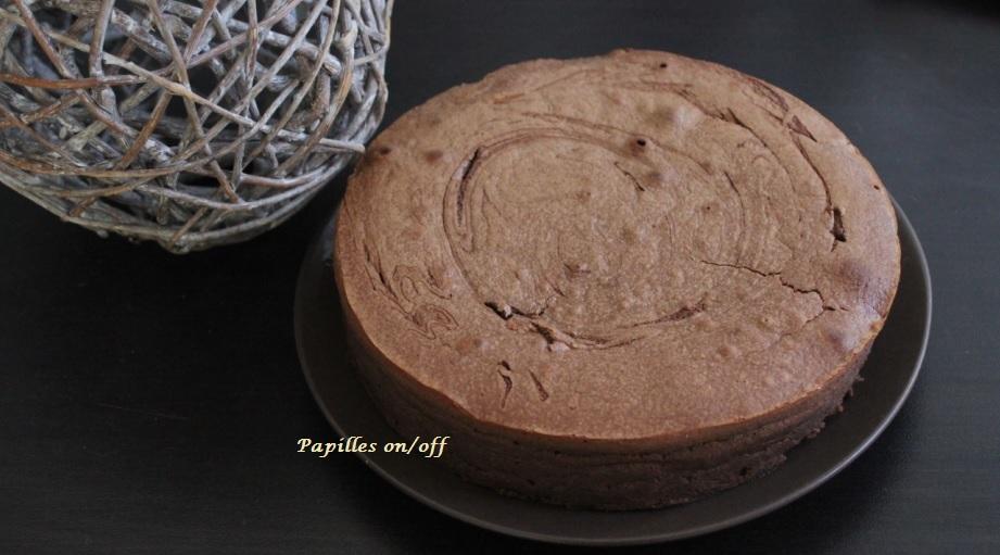 Gateau chocolat creme de marron leger