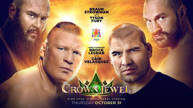 نتائج عرض كراون جول WWE Crown Jewel اليوم 31-10-2019 جوهرة التاج السعودية
