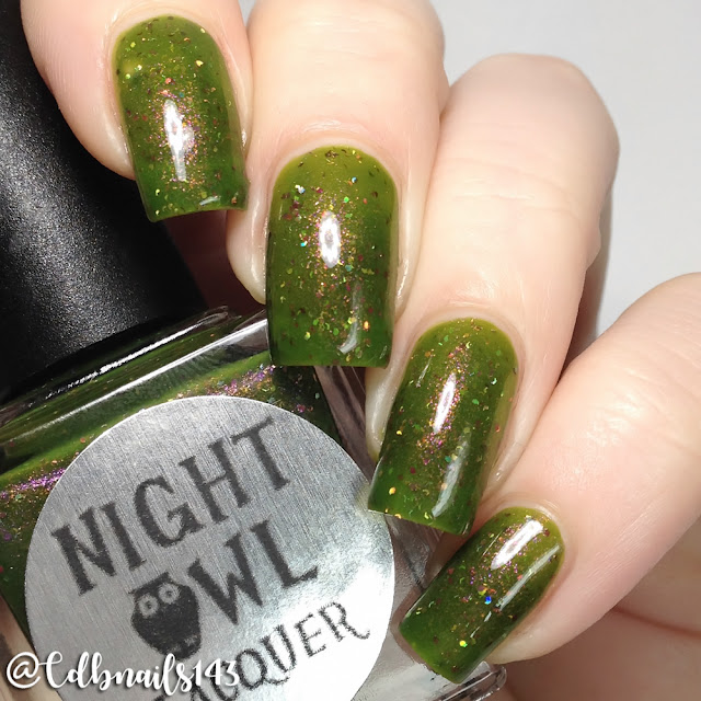 Night Owl Lacquer-Wildflower Meadows
