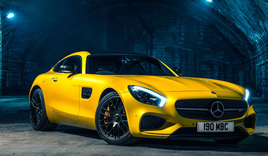 Jeremy Clarkson Names MERCEDES-AMG GT S One of His Top 10