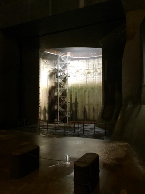 江戸川の排水機場にもっとも近い第一立坑