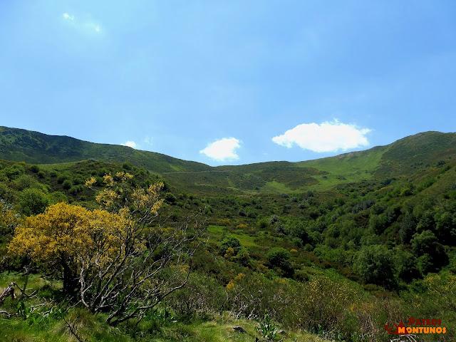 Vista al valle de Las Navariegas