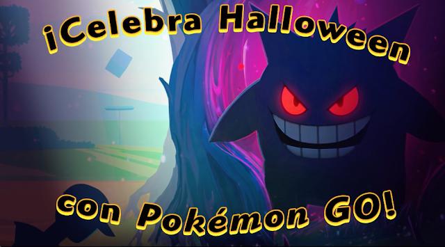 Pokémon GO confirma su evento para Halloween: caramelos y fantasmas por un tubo