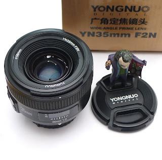 Jual Lensa Fix Yongnuo AF-S 35mm f/2 Nikon