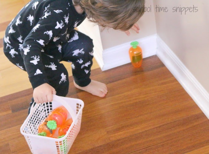 toddler shape scavenger hunt